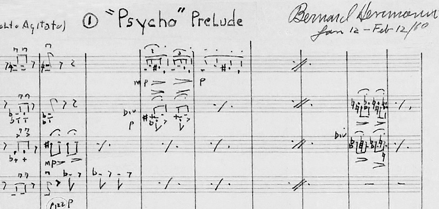 "Bernard Herrmann's ""Psycho - Prelude"""
